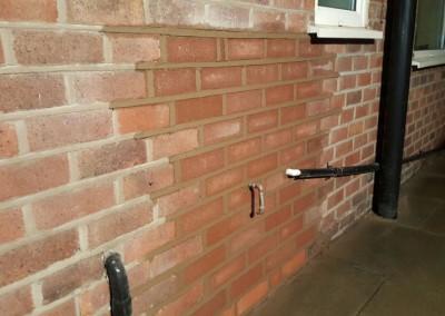 Exterior wall repair